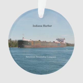 Ornamento do acrílico do porto de Indiana