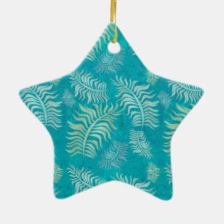 Ornamento do Batik das palmas R5