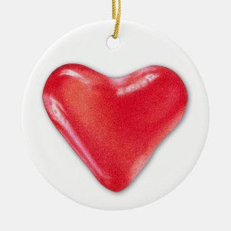 Ornamento do coração 2 dos doces