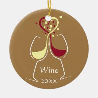 Ornamento do design do vinho