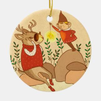 Ornamento do Feliz Natal