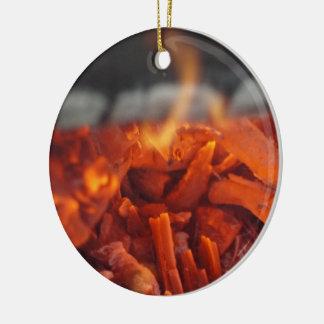 Ornamento do fogo