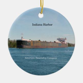 Ornamento do porto de Indiana