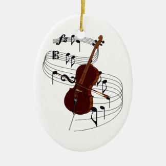 Ornamento do violoncelo