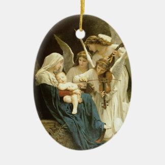 Ornamento dos anjos das belas artes