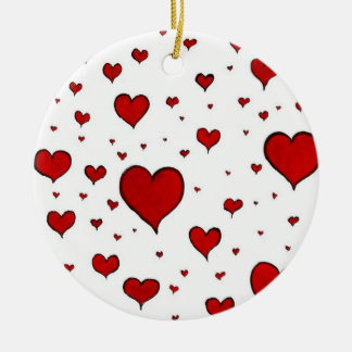 Ornamento dos corações