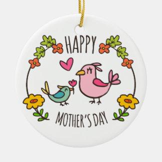 Ornamento feliz adorável do dia das mães  