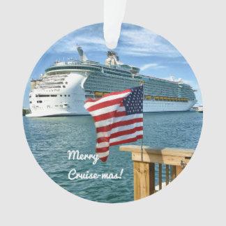 Ornamento Feliz Cruisemas da Vela-Afastado