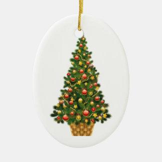 Ornamento festivos do feriado da árvore de Natal