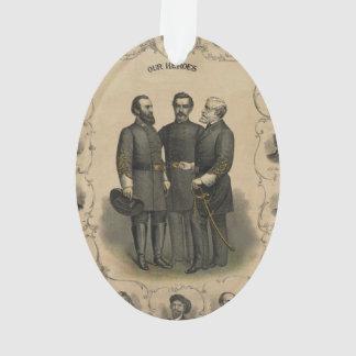 Ornamento Heróis da guerra civil