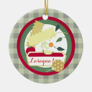 Ornamento italiano da árvore de Natal da comida