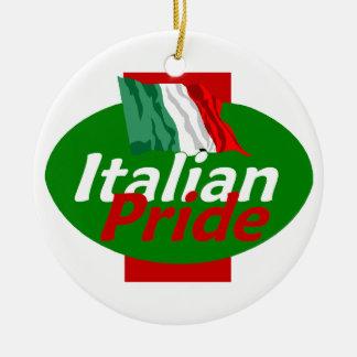 Ornamento italiano do orgulho