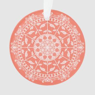 Ornamento Mandala da papaia