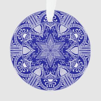 Ornamento Mandala da safira