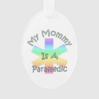 Ornamento Minha mamãe é um paramédico