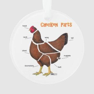 Ornamento Peças da galinha