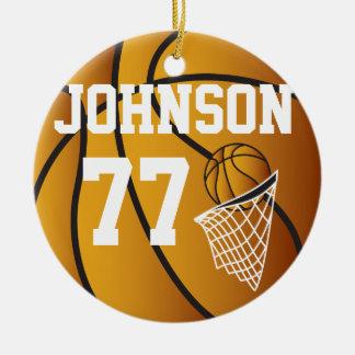 Ornamento personalizado basquetebol
