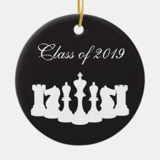 Ornamento personalizado da graduação da xadrez