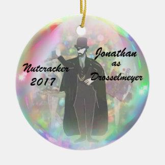 Ornamento personalizado do Nutcracker -