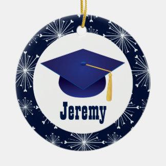 Ornamento personalizado do presente da graduação