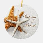 Ornamento personalizado estrela do mar