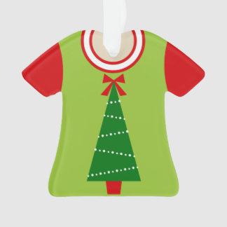 Ornamento Prêmio feio da camisola do Natal