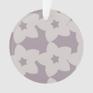 ornamento roxo do círculo das flores
