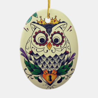ornamento tattooed coruja