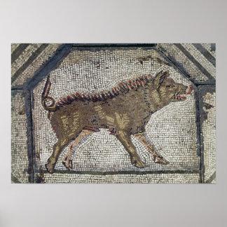 Orpheus que encanta os animais poster