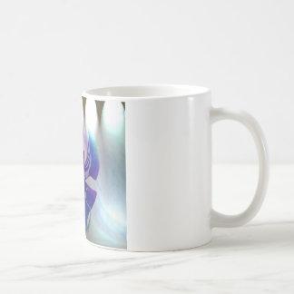 Orquídea magenta caneca de café