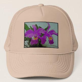 Orquídea Rosa Boné