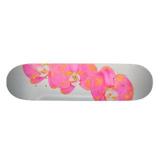 Orquídeas cor-de-rosa shape de skate 18,1cm