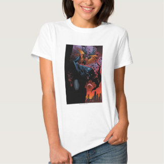 Os 52 novos - Batman e pisco de peito vermelho #1 Tshirt