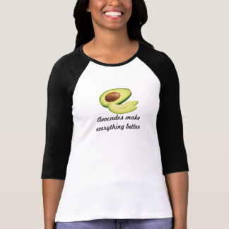 Os abacates fazem a tudo o Bella 3/4 das melhores Tshirt