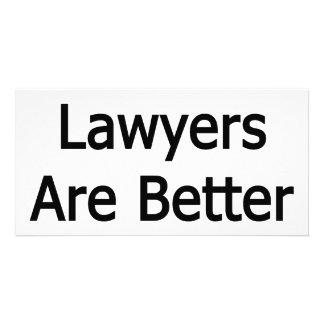 Os advogados mexicanos são melhores na cama cartões com fotos personalizados