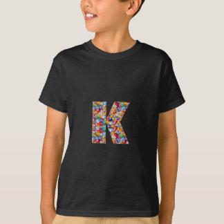 Os alfabetos do PPP do ooo do nnn do lll mmm de Camiseta