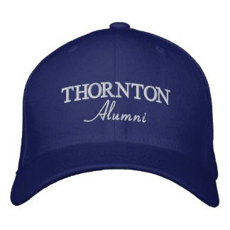 Os alunos de THORNTON bordaram o boné