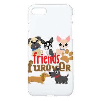 Os amigos Furever perseguem filhotes de cachorro Capa iPhone 7