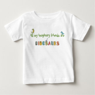 Os amigos imaginários são t-shirt do bebê dos
