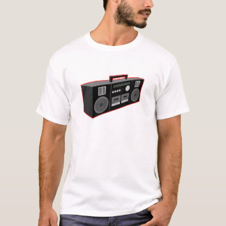 os anos 80 Boombox T-shirt