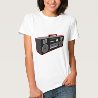 os anos 80 Boombox T-shirts