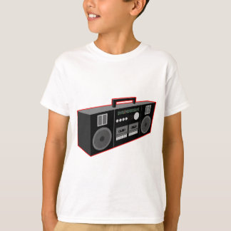 os anos 80 Boombox Tshirts
