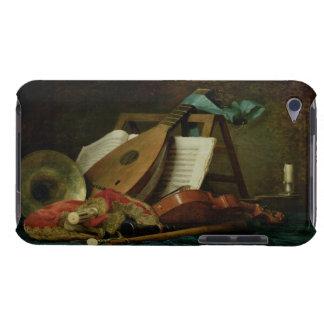 Os atributos da música, 1770 (óleo em canvas) capa iPod barely there