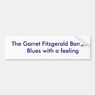 Os azuis da banda de Fitzgerald      do sótão com  Adesivo Para Carro
