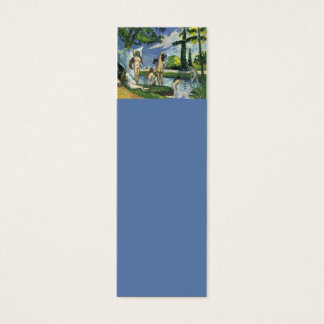 Os Bathers, Paul Cezanne 1874 Cartão De Visitas Mini