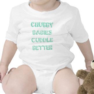 Os bebês carnudos afagam melhor - o verde macacãozinho para bebê