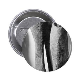 Os botões enegrecem uma foto branca bóton redondo 5.08cm