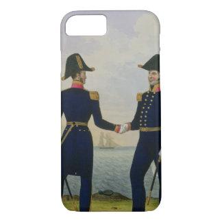 Os capitães, chapeiam 5 'do traje do marinho real capa iPhone 8/7