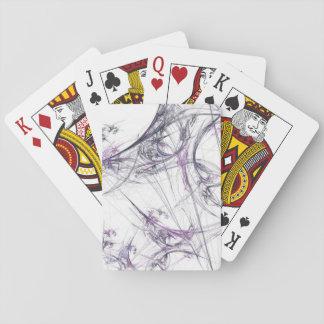 Os cartões de jogo padrão do índice abstraem a Web Jogo De Carta