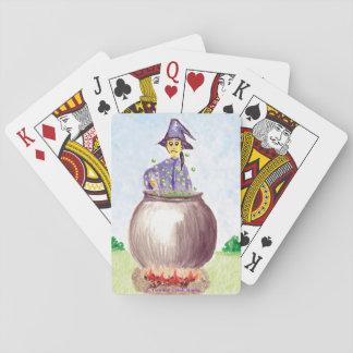 Os cartões de jogo Persnickety do feiticeiro Jogo De Carta